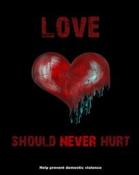 Love should never hurt